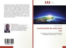 Bookcover of L'universalité du salut chez Luc