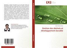 Обложка Gestion des déchets et développement durable