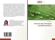 Capa do livro de Prescrire des Thérapies Complémentaires