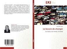 Buchcover von Le besoin de changer