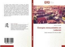 Capa do livro de Énergies renouvelables en Luberon