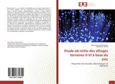 Bookcover of Etude ab-initio des alliages ternaires II-VI à base du zinc