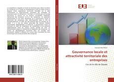 Portada del libro de Gouvernance locale et attractivité territoriale des entreprises