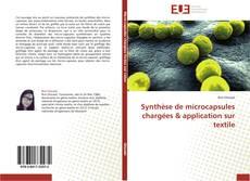 Copertina di Synthèse de microcapsules chargées & application sur textile