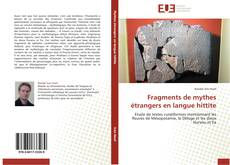 Copertina di Fragments de mythes étrangers en langue hittite
