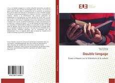Bookcover of Double langage