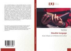 Double langage kitap kapağı