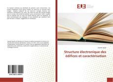 Bookcover of Structure électronique des édifices et caractérisation