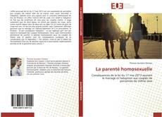 Bookcover of La parenté homosexuelle