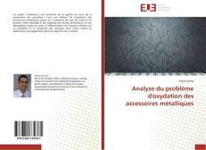 Bookcover of Analyse du problème d'oxydation des accessoires métalliques