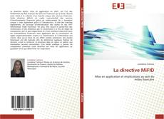 La directive MiFID kitap kapağı