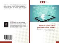 Buchcover von Mise en place d'une plateforme de recette