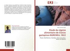 Bookcover of Etude du régime alimentaire de Clarias gariepinus BURCHELL 1822