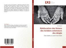 Buchcover von Rééducation des lésions des tendons extenseurs des doigts