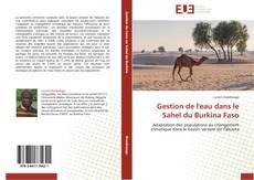 Capa do livro de Gestion de l'eau dans le Sahel du Burkina Faso