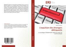 Bookcover of L'expulsion des étrangers délinquants
