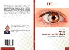 Bookcover of Œil et mucopolysaccharidoses