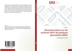 Copertina di Reconstructions sur les surfaces (001) de quelques pérovskites ABO3