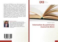 Обложка Valorisation du patrimoine musical du Bénin