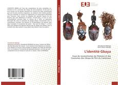 Bookcover of L'identité Gbaya