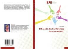 Bookcover of Efficacité des Conférences Internationales