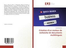 Buchcover von Création d'un moteur de recherche de documents multilingues