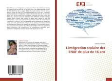 Portada del libro de L'intégration scolaire des ENAF de plus de 16 ans