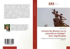 Couverture de L'envers du discours sur la pauvreté au Sénégal - Sens, Signification