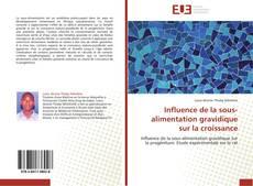 Bookcover of Influence de la sous-alimentation gravidique sur la croissance