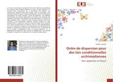 Portada del libro de Ordre de dispersion pour des lois conditionnelles archimédiennes