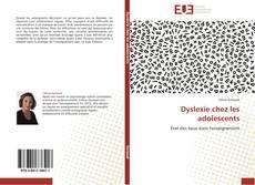 Capa do livro de Dyslexie chez les adolescents