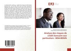 Couverture de Analyse des risques de crédit bancaire aux particuliers : BOA-BENIN