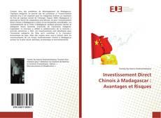 Обложка Investissement Direct Chinois à Madagascar : Avantages et Risques
