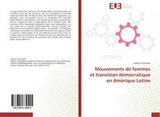 Mouvements de femmes et transition démocratique en Amérique Latine kitap kapağı