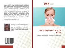 """Copertina di Pathologie du """"coup de froid"""""""