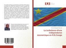 Capa do livro de La turbulence d'une indépendance économique en R.D.Congo