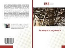 Portada del libro de Sociologie et ergonomie