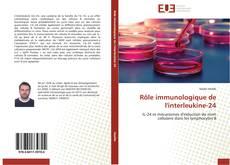 Bookcover of Rôle immunologique de l'interleukine-24