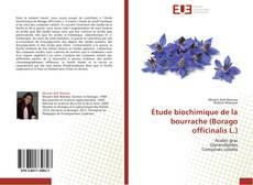 Portada del libro de Étude biochimique de la bourrache (Borago officinalis L.)