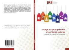 Buchcover von Usage et appropriation des médias sociaux