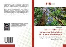 Couverture de Les associations des communautés indigènes de l'Amazonie brésilienne