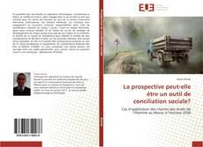 Bookcover of La prospective peut-elle être un outil de conciliation sociale?