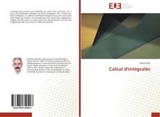 Buchcover von Calcul d'intégrales