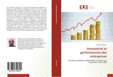 Portada del libro de Immatériel et performances des entreprises