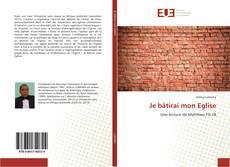 Capa do livro de Je bâtirai mon Eglise