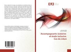 Capa do livro de Accompagnants scolaires et école inclusive. Cas du Liban