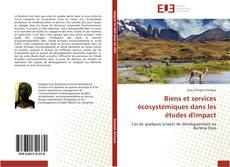 Capa do livro de Biens et services écosystémiques dans les études d'impact