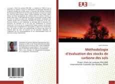 Buchcover von Méthodologie d'évaluation des stocks de carbone des sols
