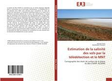 Couverture de Estimation de la salinité des sols par la télédétection et le MNT