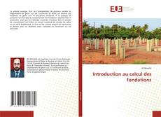 Capa do livro de Introduction au calcul des fondations